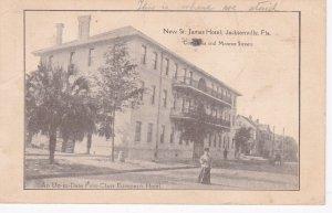 JACKSONVILLE, Florida , PU-1914; New St. James Hotel
