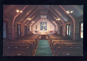 Manville, Rhode Island/RI Postcard, Our Lady Of Fatima Retreat House
