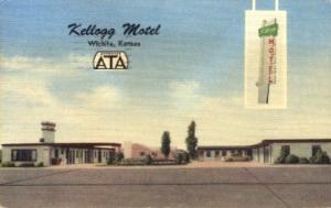 Kellogg Motel Wichita KS 1960