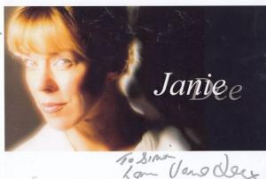 Janie Dee of The Bill Midsomer Murders Giant 12x8 Hand Signed Photo