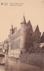 Belgium Gent Chateau de Gerard le Diable
