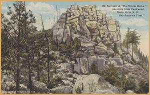 Black Hills, South Dakota-Summit of the White Rocks, Near Deadwood, Hollister