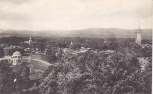 New Hampshire Hanover View From Tower Dartmouth College Albertype