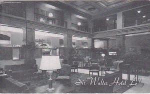North Carolina Raleigh Hotel Sir Walter Lobby