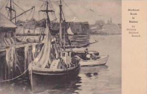 New Jersey Mackerel Boats In Harbor Albertype