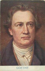 Goethe early postcard