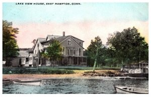 Connecticut  East  Hampton , Lake view House
