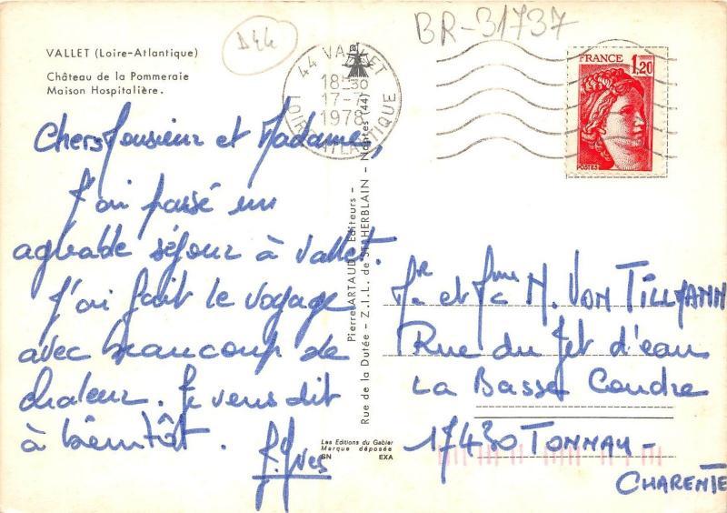 BR31737 Vallet chateau de la Pomeraie france
