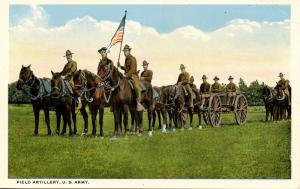 U.S. Military, WWI. U.S. Army, Field Artillery