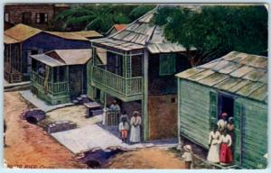 CAYEY, PUERTO RICO  (Porto Rico)  Birdseye of Village   Postcard