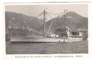 RP, P665 Cargo Liner, Ingenieur En Chef Girod Hydrographe 1953