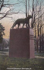 BENNINGTON, Vermont, PU-1907; Catamount Monument