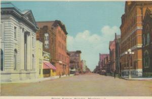 BRANDON , Manitoba , Canada , 1930-40s ; Rosser Avenue