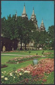 Temple Square,Salt Lake City,UT Postcard BIN