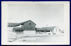 Freeport Texas tx First Methodist Church real photo postcard RPPC