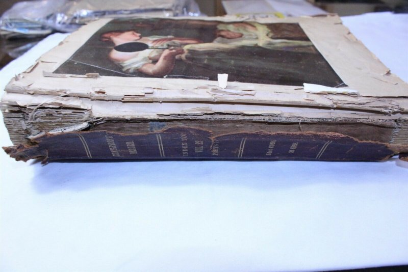 Vintage Scrap Book with Newspaper & Other Clippings Early to Mid 1990's - Lot B