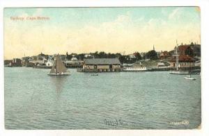 Sailboats, Sydney, Cape Breton, Nova Scotia, Canada, PU-1907