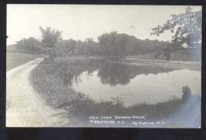 RPPC TROUTBURG NEW YORK VIEW FROM ONTARIO HOUSE MORTON NY PHOTO POSTCARD