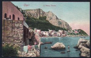 Great Marina Capri Italy unused c1910's