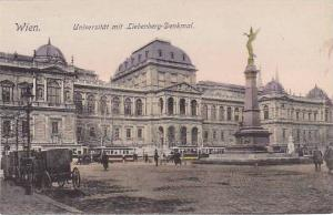 Wien. Universitat mit Liebenberg-Denkmal , Austria, 00-10s