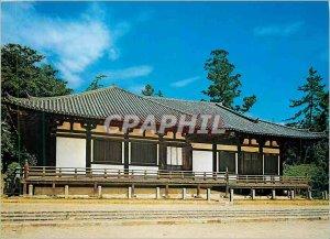 Postcard Modern National Theasure Hoekedo we Sangatsudo Temple Japan Japan