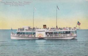 California Catalina Island Glass Bottom Boat Emperor At Submarine Gardens