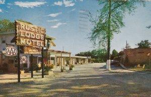 Louisiana New Orleans Rustic Lodge Motel 1957 sk6563