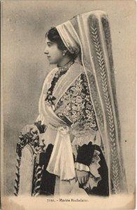 CPA Mariée Rochelaise (45322)