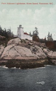 VANCOUVER, B. C,, Canada, 00-10s; Point Atkinson Lighthouse, Howe Sound
