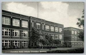 Carrollton Kentucky~Carrollton Public Schools~1948 B&W CT Photo Finish Postcard