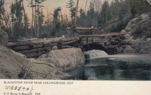 COLLINGWOOD , Ontario , Canada , 1906 ; Blackstone River