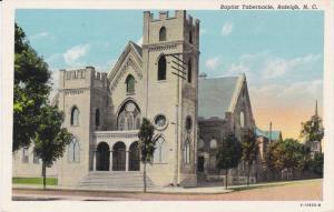 Baptist Tabernacle , RALEIGH , North Carolina , 1910-20s