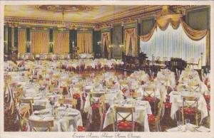 Illinois Chicago Palmer House Interior Empire Room 1946