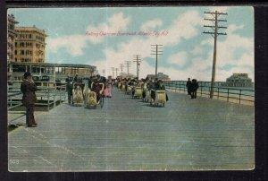 Rolling Chairs on Boardwalk,Atlantic City,NJ BIN