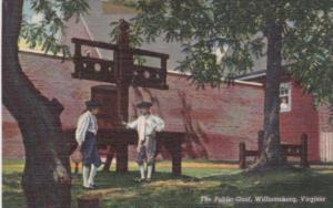 Viginia Williamsburg The Public Gaol Curteich