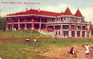 PAVILION MILLER'S PARK, BLOOMINGTON, IL 1909