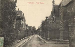 CPA Troyes Villa Rothier Aube (100841)