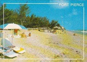 Florida Fort Pierce Tropical Beach At Fort Pierce