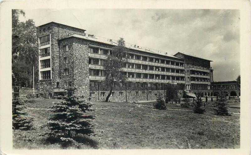 Hungary Galya Nagyszallo a Matraban Matra hotel 1950