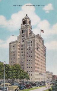 Minnesota Rochester The Mayo Clinic 1952