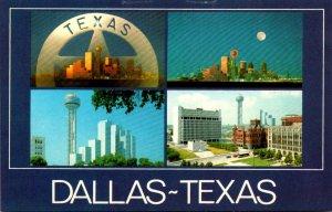 Texas Dallas Big D Multi Views