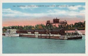 NEW ORLEANS , Louisiana , 30-40s ; The MASTODON Crossing Mississippi River