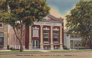 Fredonia Grange No1 First Grange In the World Fredonia New York 1943