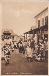 SIERRA-LEONE . Cloth Sellers , PU-1928