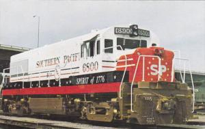 Southern Pacific's Unit Number 6800, Four axle locomotive,  40-60s