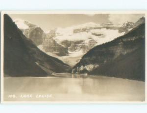 old rppc NICE VIEW Lake Louise Alberta AB W0869
