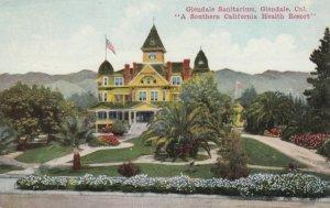 GLENDALE, California , PU-1911; Sanitarium, Southern California Health Resort