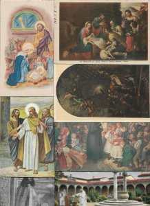 Artist Signed Art - Religion Postcard Lot of 40 01.14