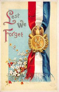 Memorial Day Decoration Day Post Card Old Vintage Antique International Art P...