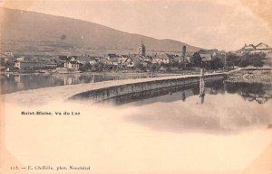 Saint Blaise vu du Lac Switzerland Unused